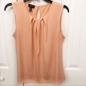 Jones NY Sleeveless Blouse Sz M